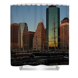 Shower Curtain featuring the photograph Colorful New York  by Georgia Mizuleva