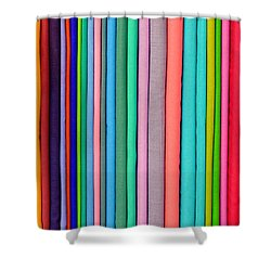 Colorful Pashminas Shower Curtain