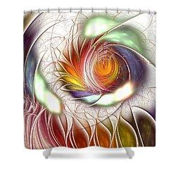 Colorful Promenade Shower Curtain