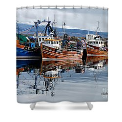Colorful Reflections Shower Curtain by Lois Bryan