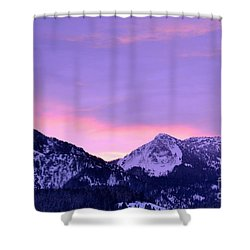 Colorful Sunrise No. 1 Shower Curtain