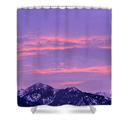 Colorful Sunrise No. 2 Shower Curtain
