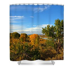 Colors Along The Colorado Shower Curtain by Bob Hislop