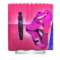 Colors Shower Curtain by Liane Wright