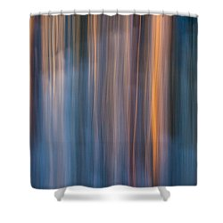 Colors Of Dusk Shower Curtain