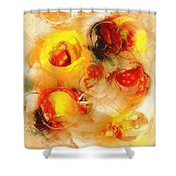 Colors Of Fall Shower Curtain by Anastasiya Malakhova