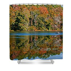 Colors Of Fall Shower Curtain