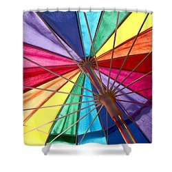 Colors Of Summer Shower Curtain