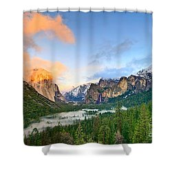 Colors Of Yosemite Shower Curtain by Jamie Pham
