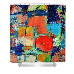 Colorscape Shower Curtain by Ana Maria Edulescu