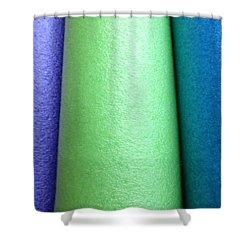 Colorscape Tubes A Shower Curtain