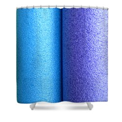 Colorscape Tubes C Shower Curtain
