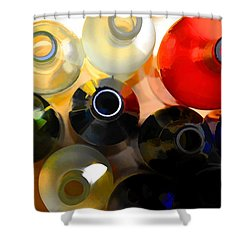 Colorsplash Shower Curtain by Jan Amiss Photography
