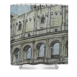 Colosseum Rome Italy Shower Curtain
