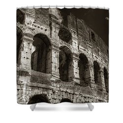 Colosseum Wall Shower Curtain