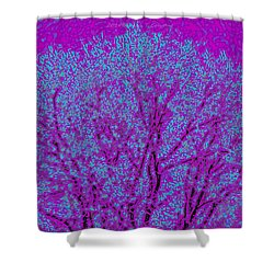 Colourful Silhouette Shower Curtain by Sonali Gangane