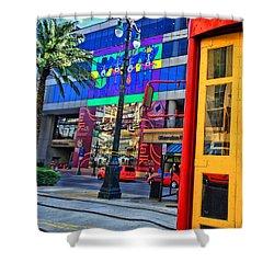 Colours De Nola Shower Curtain by Robert McCubbin