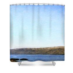 Columbia River Vista Shower Curtain