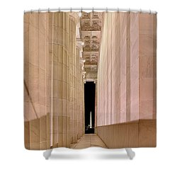 Columns And Monuments Shower Curtain