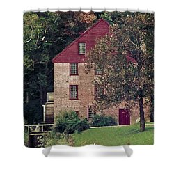 Colvin Run Mill Shower Curtain by Greg Reed