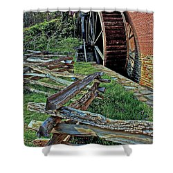 Colvin Run Mill Shower Curtain by Suzanne Stout