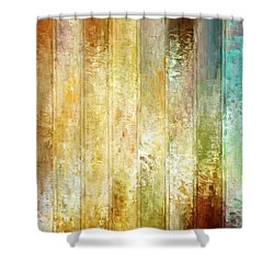 Come A Little Closer - Abstract Art Shower Curtain by Jaison Cianelli
