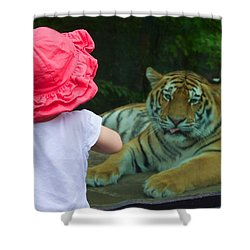Shower Curtain featuring the photograph Come A Little Closer by Dave Files
