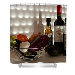 Come Dine With Me I Am Cooking Italian Tonight Shower Curtain
