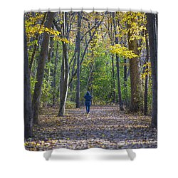 Shower Curtain featuring the photograph Come For A Walk by Sebastian Musial