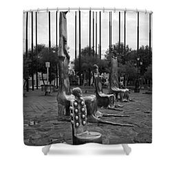 Shower Curtain featuring the photograph Come Sit With Us by Lynn Palmer