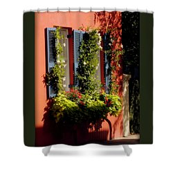Come To My Window Shower Curtain by Karen Wiles