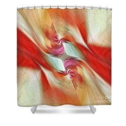 Comfort Shower Curtain by Margie Chapman