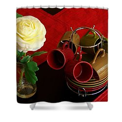 Shower Curtain featuring the photograph Comfort Zone by Rodney Lee Williams