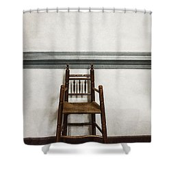 Comforts Of Home Shower Curtain by Margie Hurwich