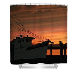 Coming Home... Shower Curtain by Karen Wiles