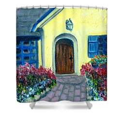 Coming Home Shower Curtain by Laurie Morgan