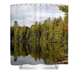 Coming Shower Curtain by Joseph Yarbrough