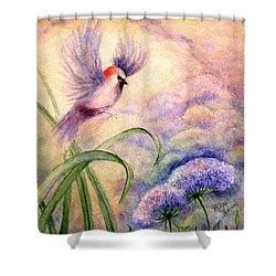 Coming To Rest Shower Curtain