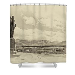 Commando Memorial 3 Shower Curtain