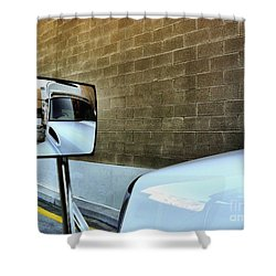 Commercial Truck Shower Curtain