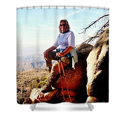 Shower Curtain featuring the photograph Commission Free - Crickets by Benjamin Yeager