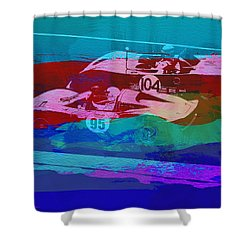 Competition Shower Curtain by Naxart Studio
