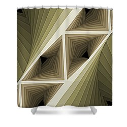 Composition 132 Shower Curtain