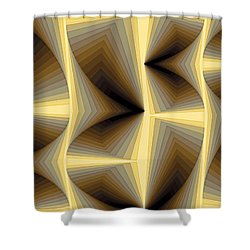 Composition 252 Shower Curtain