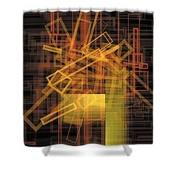 Composition 26 Shower Curtain