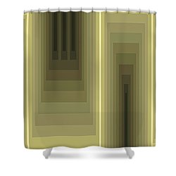 Composition 80 Shower Curtain