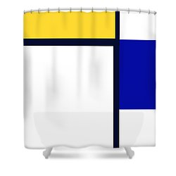 Shower Curtain featuring the photograph Composition by Tina M Wenger