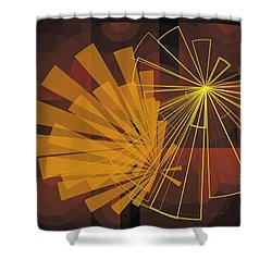 Composition16 Shower Curtain
