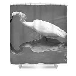 Concentration Shower Curtain by Carol Groenen