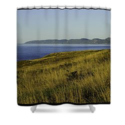 Conception Bay Shower Curtain